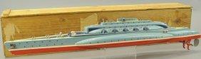 Wooden Submarine W/box