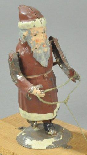 Father Christmas Clockwork Bell Ringer