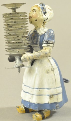 Madelon The Maid Carrying Dishes