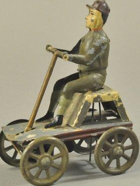 Irish Mail Cart