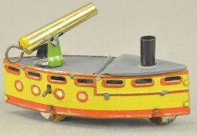 Gunboat Penny Toy
