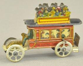 Meier Double Decker Bus Penny Toy
