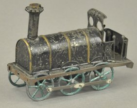 Early Tall Stack Penny Toy Locomotive