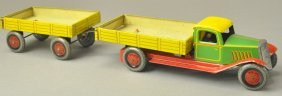 Dump Truck And Trailer