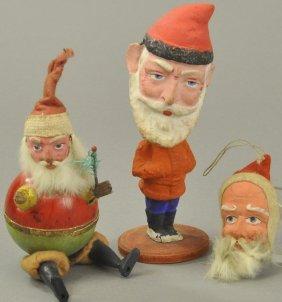 Three Early German Santas