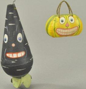 Turnip Man & Pumpkin Face