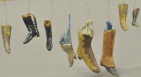 Eight Dresden Riding Boots