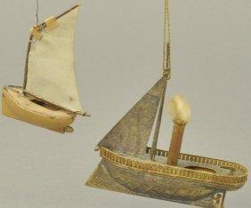 Two German Sailboats