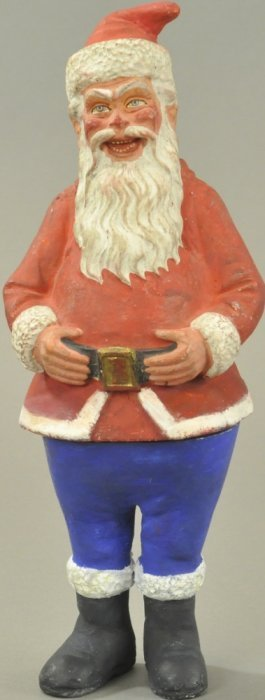 Jolly Old Saint Nick Candy Container