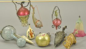 Impressive Grouping Of Christmas Ornaments
