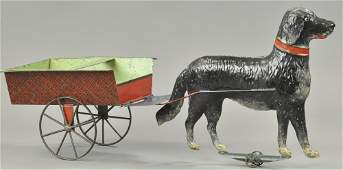 GEORGE BROWN OVERSIZED DOG CART