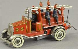 FIRE LADDER TRUCK PENNY TOY