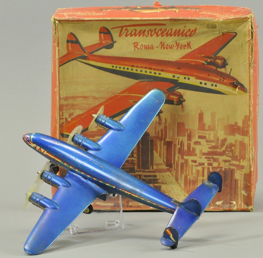 INGAP ROME TO NY AIRPLANE WITH BOX
