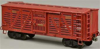 BUDDY L RAILROAD CATTLE CAR