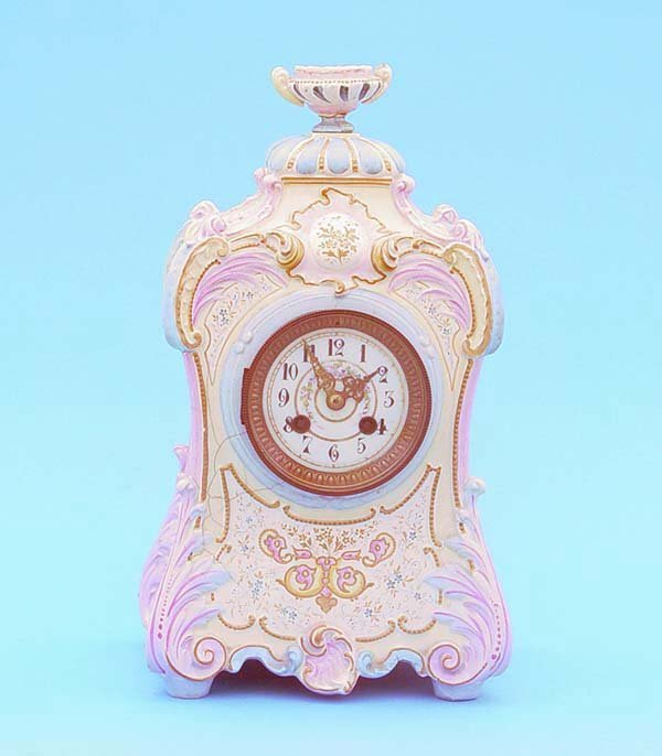 510: French China Clock