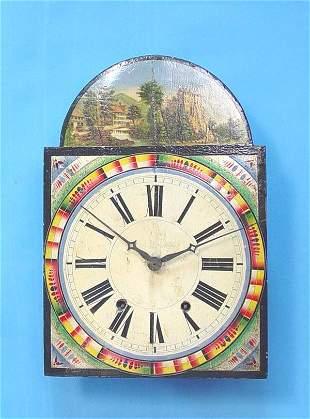 German Wag On Wall Clock