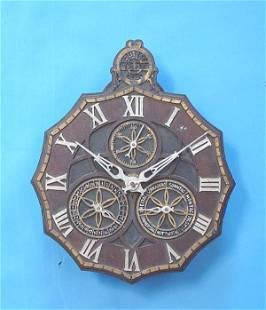 Zeitist Geld Calendar Wall Clock
