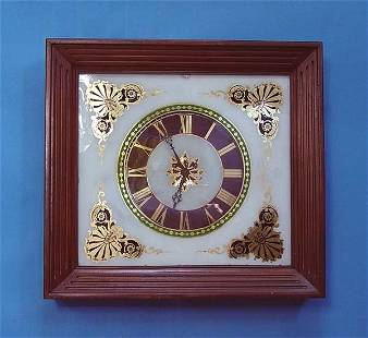 Unusual French Picture Frame Clock