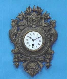 Japy Freres Cartel Clock