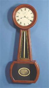 779: Very Large Period American Banjo Wall Clock
