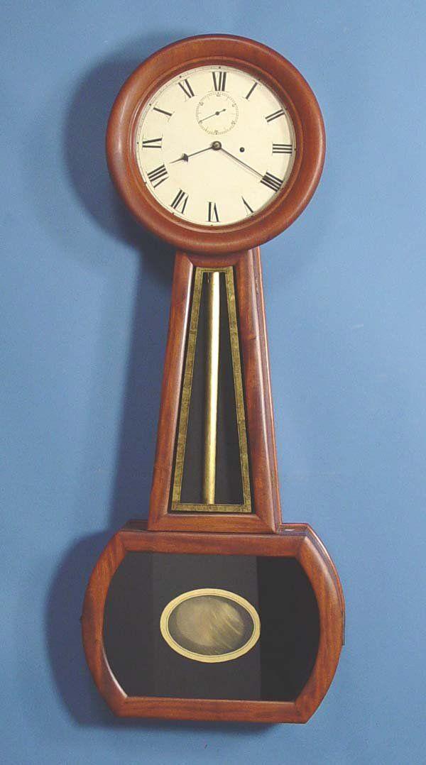 Very Large Period American Banjo Wall Clock