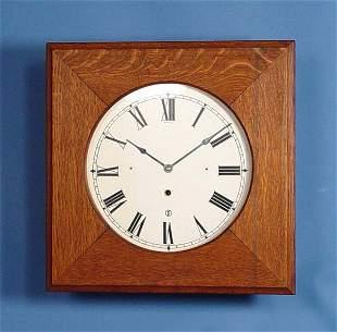 Oak Square Gallery Clock