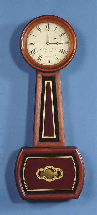 E. Howard Company Model 5 Banjo Wall Clock