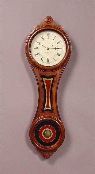 E. Howard Regulator 10 Fig 8 Style Wall Clock