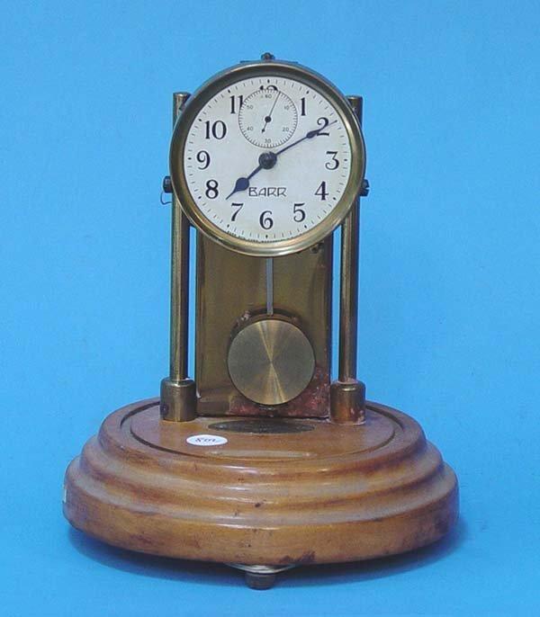 802: Barr Electric Battery Mantel Clock