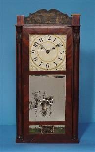 Silas Hoadley Franklin Upside Down Clock