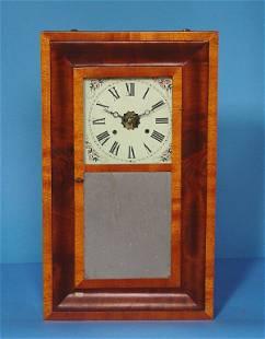 Banded Veneer OG Shelf Clock
