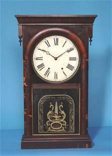 Ansonia B & C Co. Large Rosewood Shelf Clock