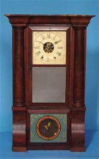 Cornice & Column Shelf Clock