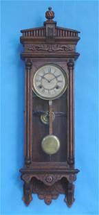 Waterbury Oak Halifax Wall Clock