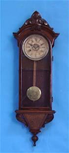 American Walnut Wall Clock