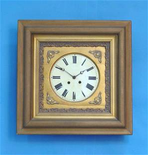French Gilt Picture Frame Wall Clock