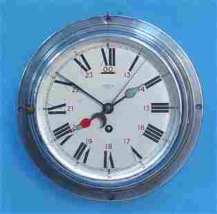 Ships Clock With Sweep Seconds Hand