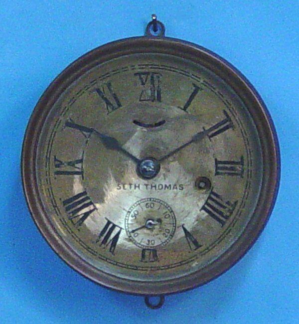 US Coast Guard Brass Ships Clock