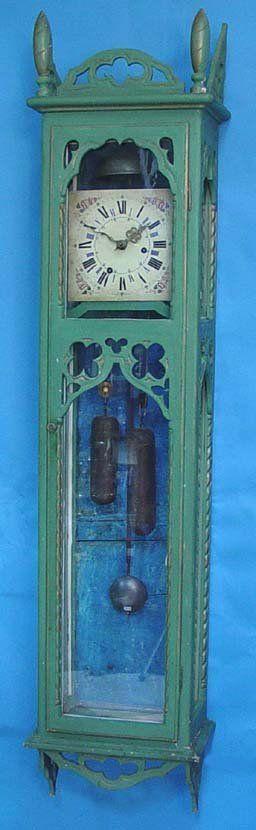 Large Early Italian Wall Clock