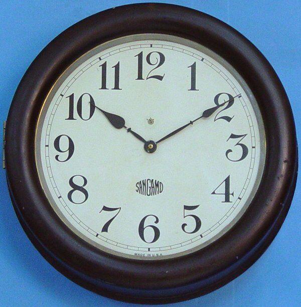 Sangamo Electric Gallery Wall Clock