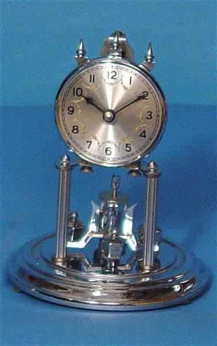 Chrome Art Deco 400 Day Domed Clock