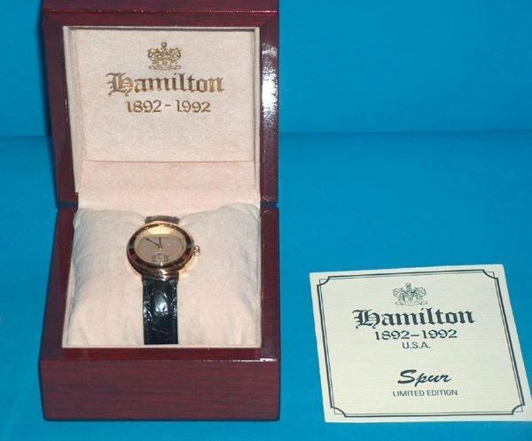 1476: 18k Hamilton Spur Limited Edition Watch