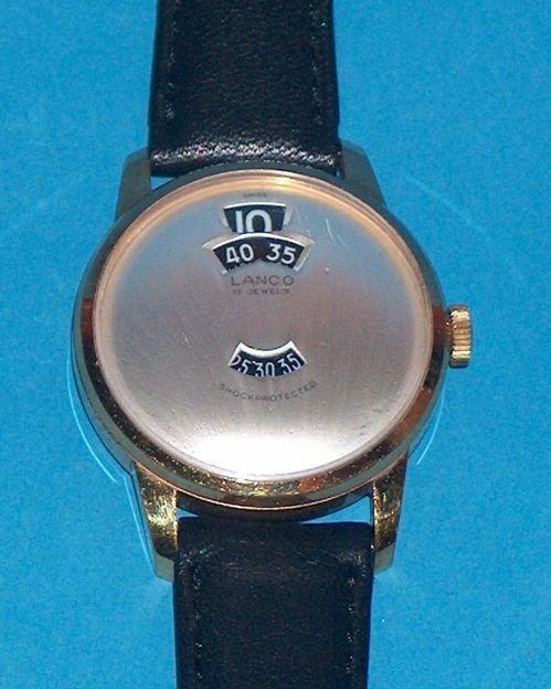 1479: New Old Stock Lanco Digital Wrist Watch