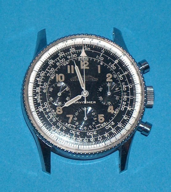 1481: Breitling Navitimer Chronograph Wrist Watch