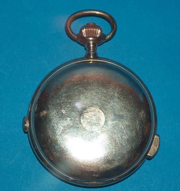 1482: 14k  Repeater Chronograph Pocket Watch