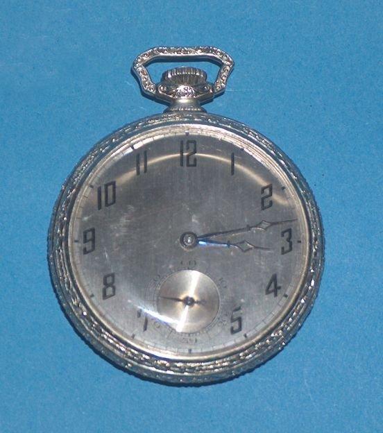 1483: Dudley Masonic 19 Jewel Model 1 Watch