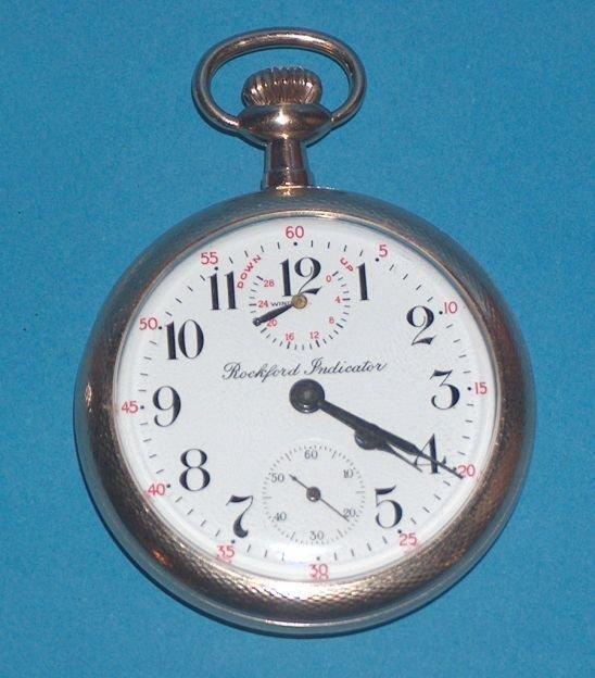 1487: Rockford 21 Jewel Grade 665 Watch