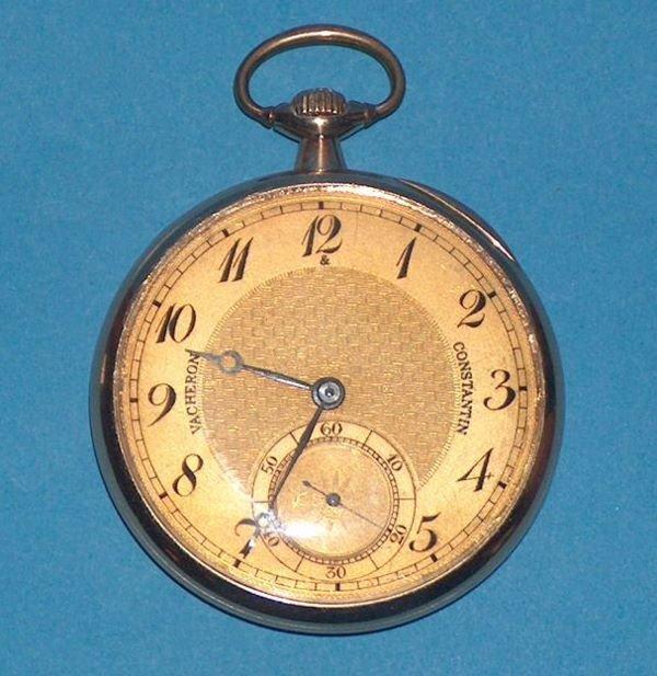1488: 18k Vacheron & Constantin 19 Jewel Watch