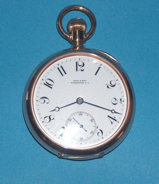 1489: 18k Patek  Phillipe 20 Jewel Pocket Watch