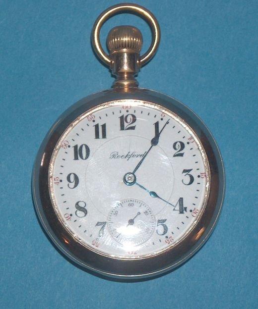 1490: Rockford 24 Jewel Pocket Watch